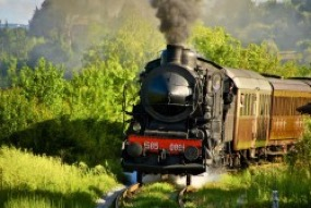 Toscana in treno a vapore