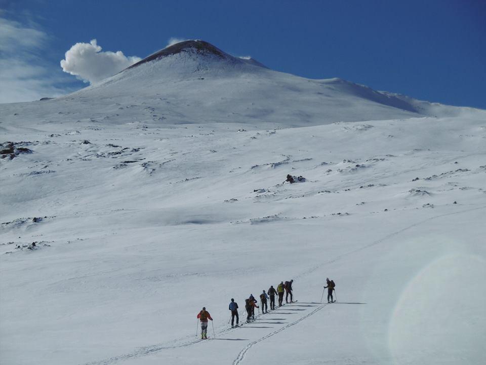 ski alpinismo vulcano etna